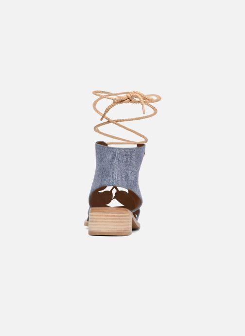 Sandaler See by Chloé Edna Blå Se fra højre