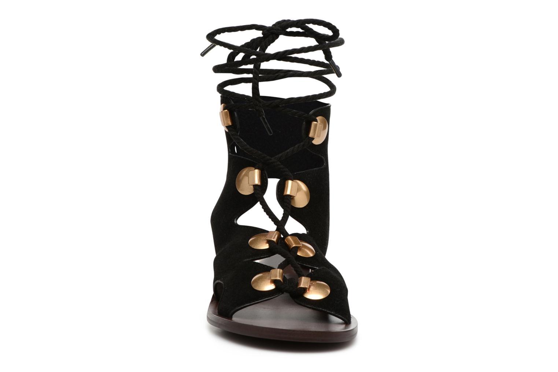Sandales et nu-pieds See by Chloé Edna Noir vue portées chaussures