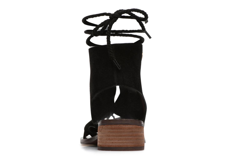Sandales et nu-pieds See by Chloé Edna Noir vue droite