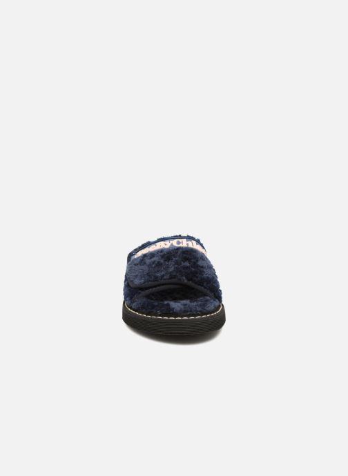 Zoccoli See by Chloé Sumi Azzurro modello indossato