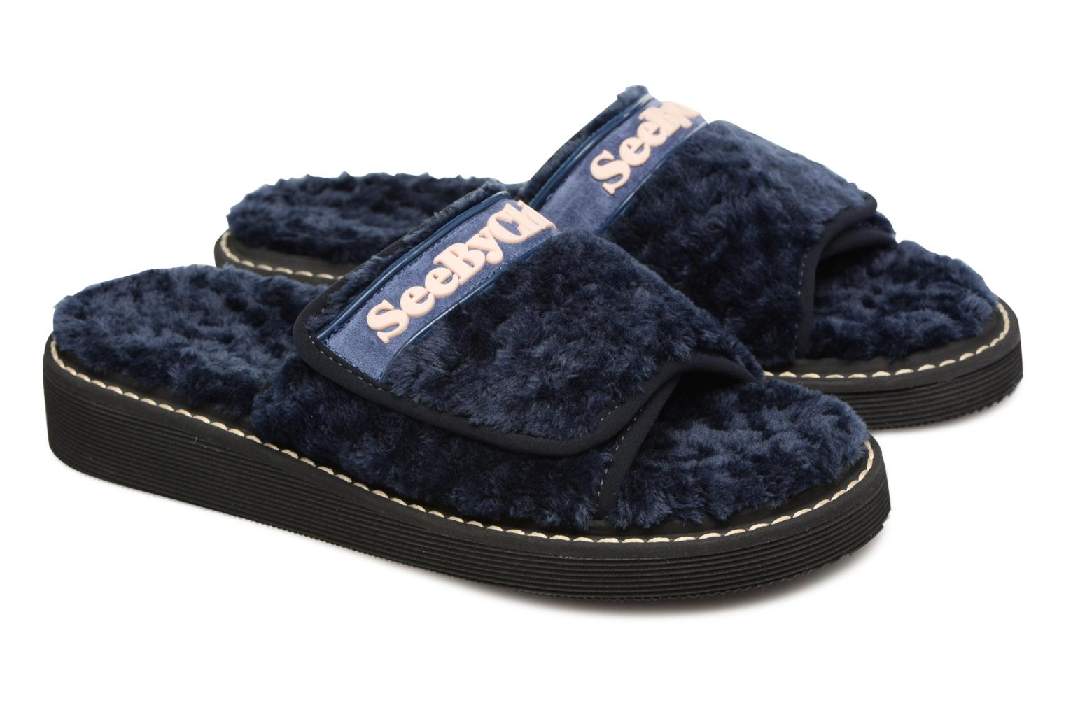 Mules & clogs See by Chloé Sumi Blue 3/4 view