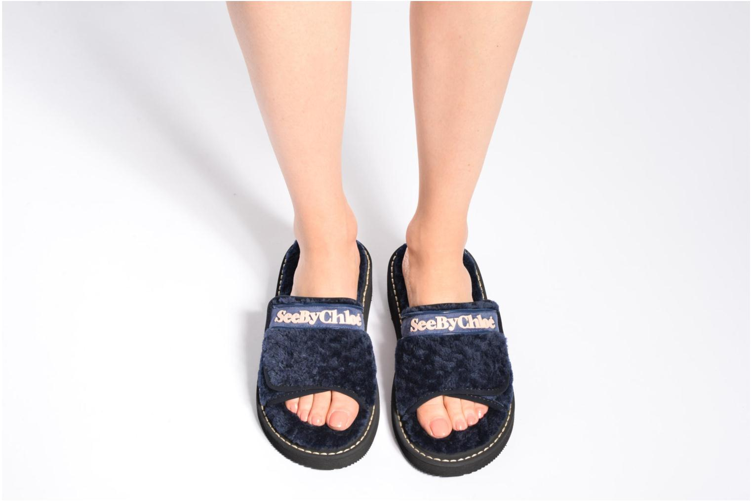 Mules & clogs See by Chloé Sumi Blue view from underneath / model view