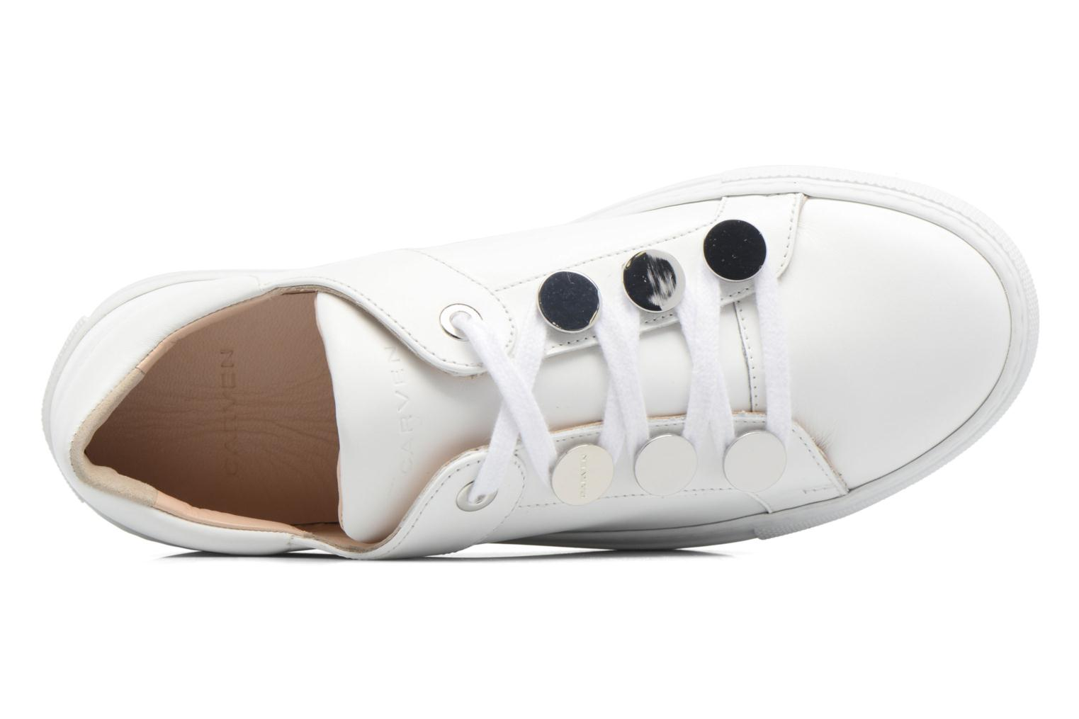 Sneakers Carven Resonance 2 Bianco immagine sinistra