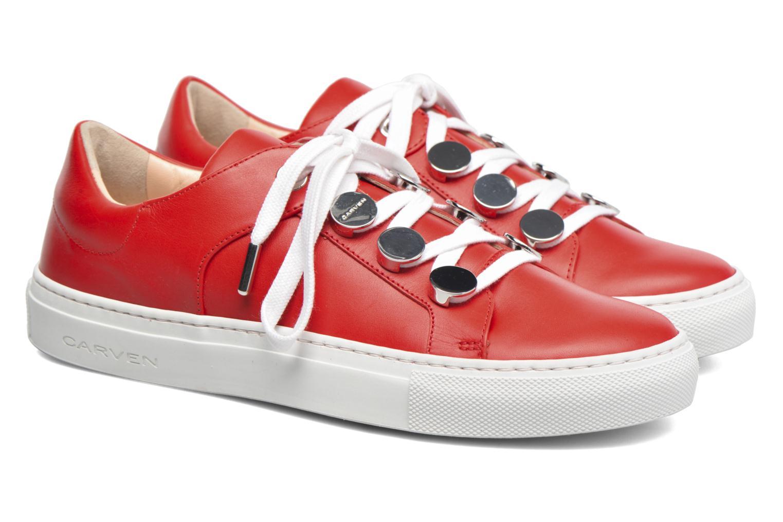 Sneakers Carven Resonance 2 Rosso immagine 3/4