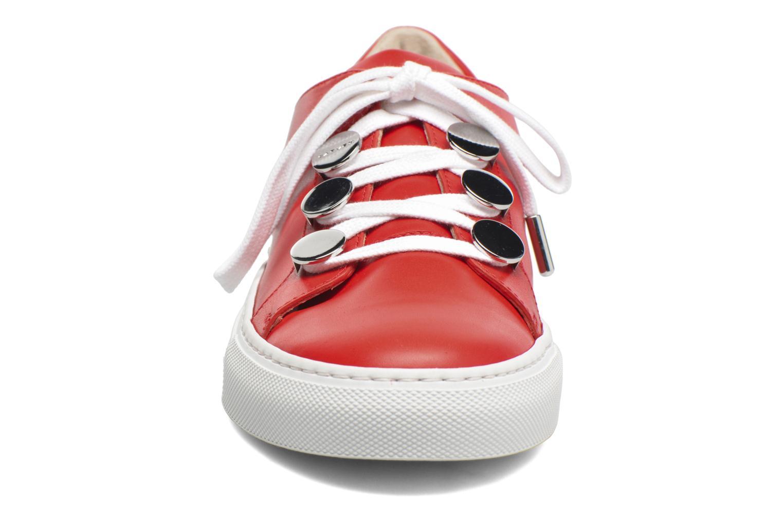 Sneakers Carven Resonance 2 Rosso modello indossato