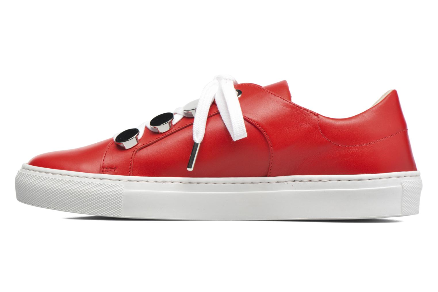 Sneakers Carven Resonance 2 Rosso immagine frontale