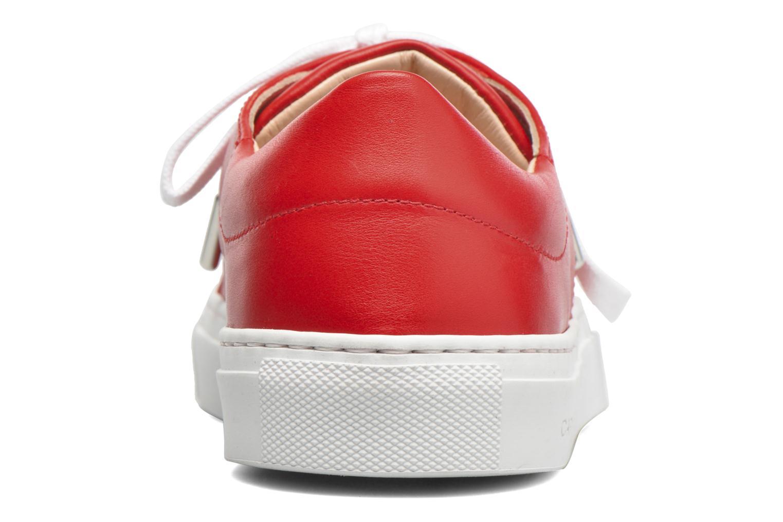 Sneakers Carven Resonance 2 Rosso immagine destra