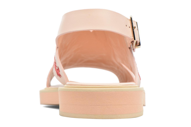 Sandaler Carven Butterfly Sandal Pink Se fra højre