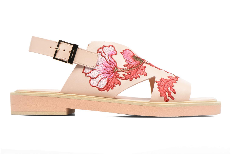 Sandaler Carven Butterfly Sandal Pink se bagfra