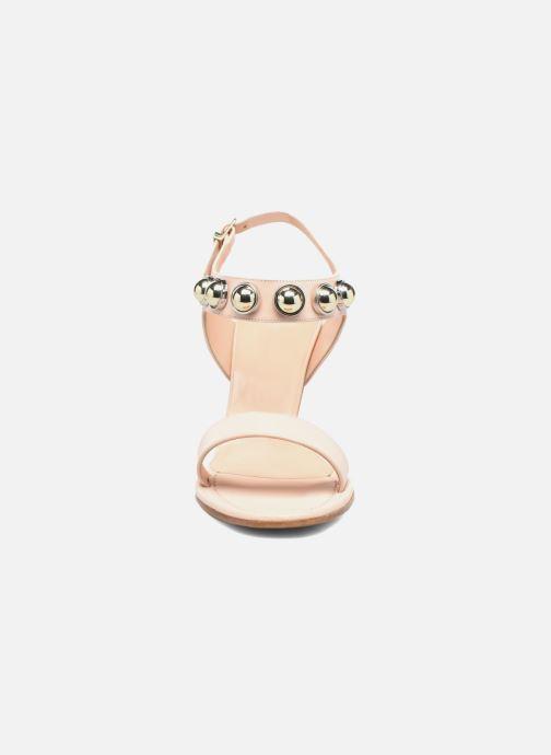 Sandales et nu-pieds Carven Resonance High Sandal Beige vue portées chaussures