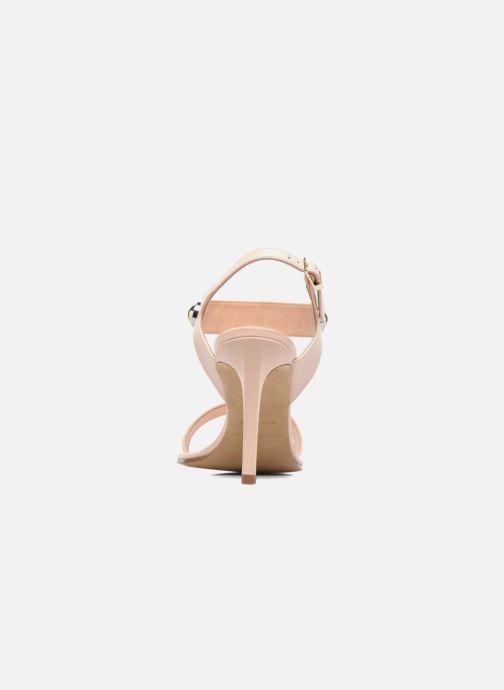 Sandales et nu-pieds Carven Resonance High Sandal Beige vue droite