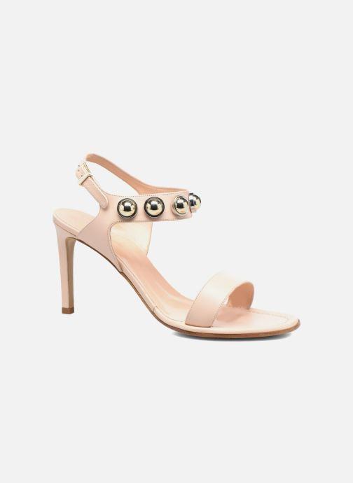 Sandales et nu-pieds Carven Resonance High Sandal Beige vue détail/paire