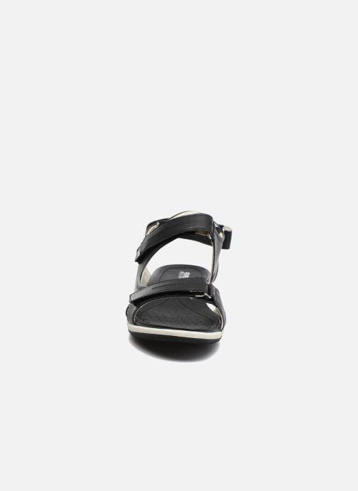 Sandalen Geox D SAND.VEGA A D52R6A schwarz schuhe getragen