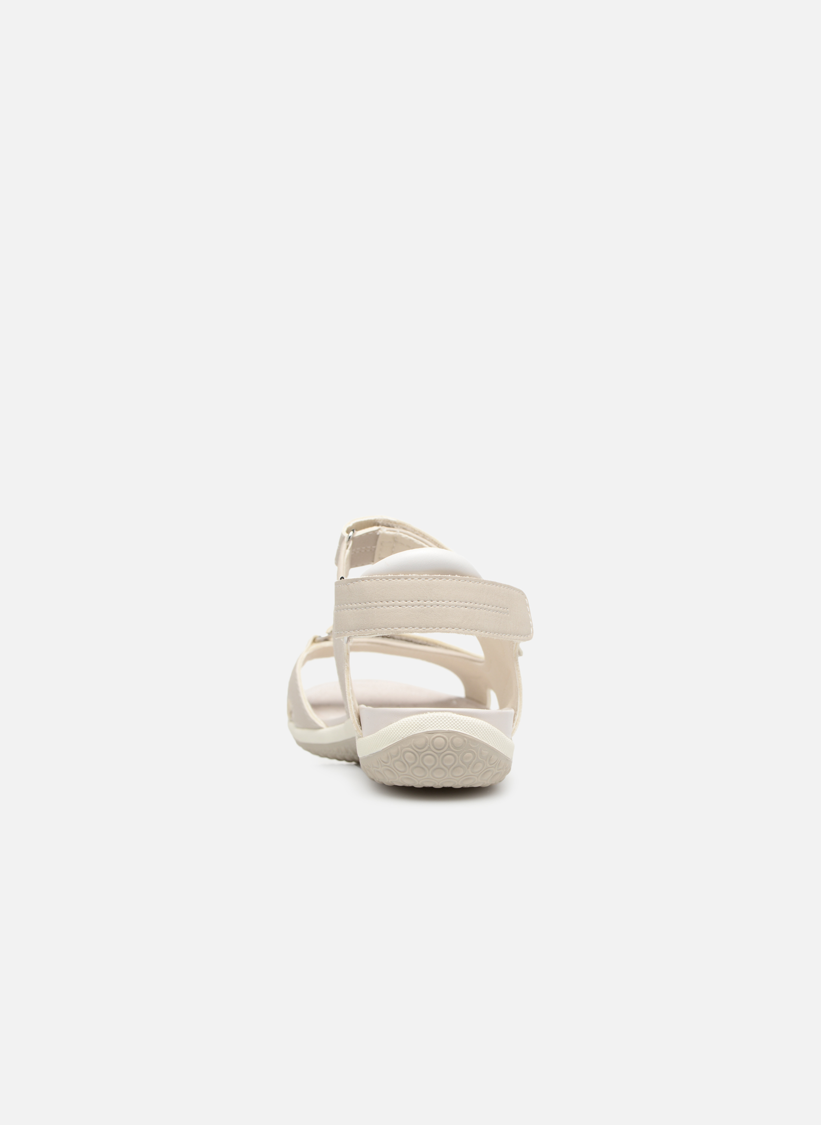 Sandals Geox D SAND.VEGA A D52R6A Grey view from the right