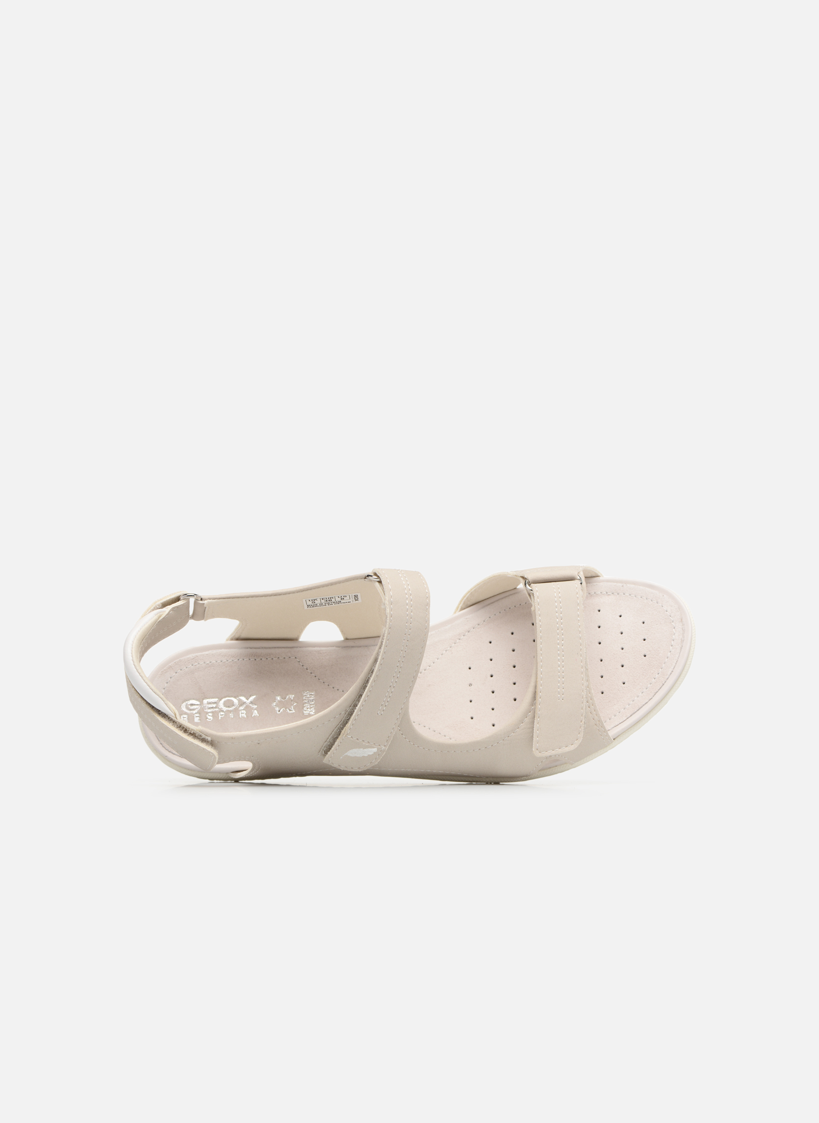 Sandals Geox D SAND.VEGA A D52R6A Grey view from the left