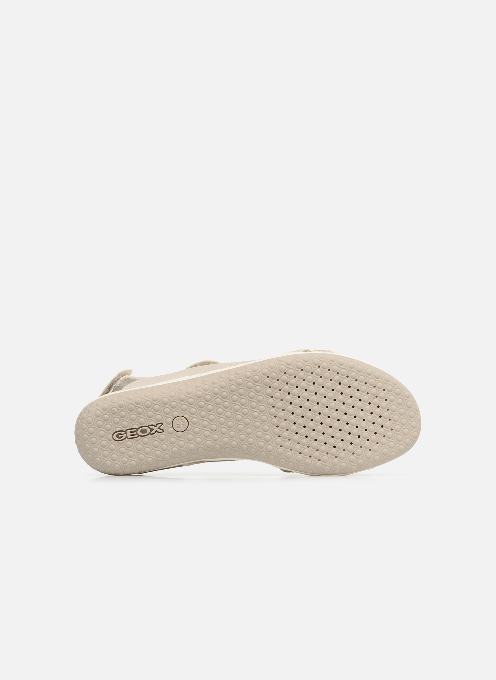 Sandals Geox D SAND.VEGA A D52R6A Grey view from above