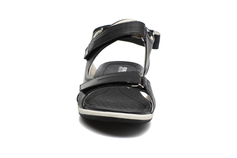 Sandals Geox D SAND.VEGA A D52R6A Black model view