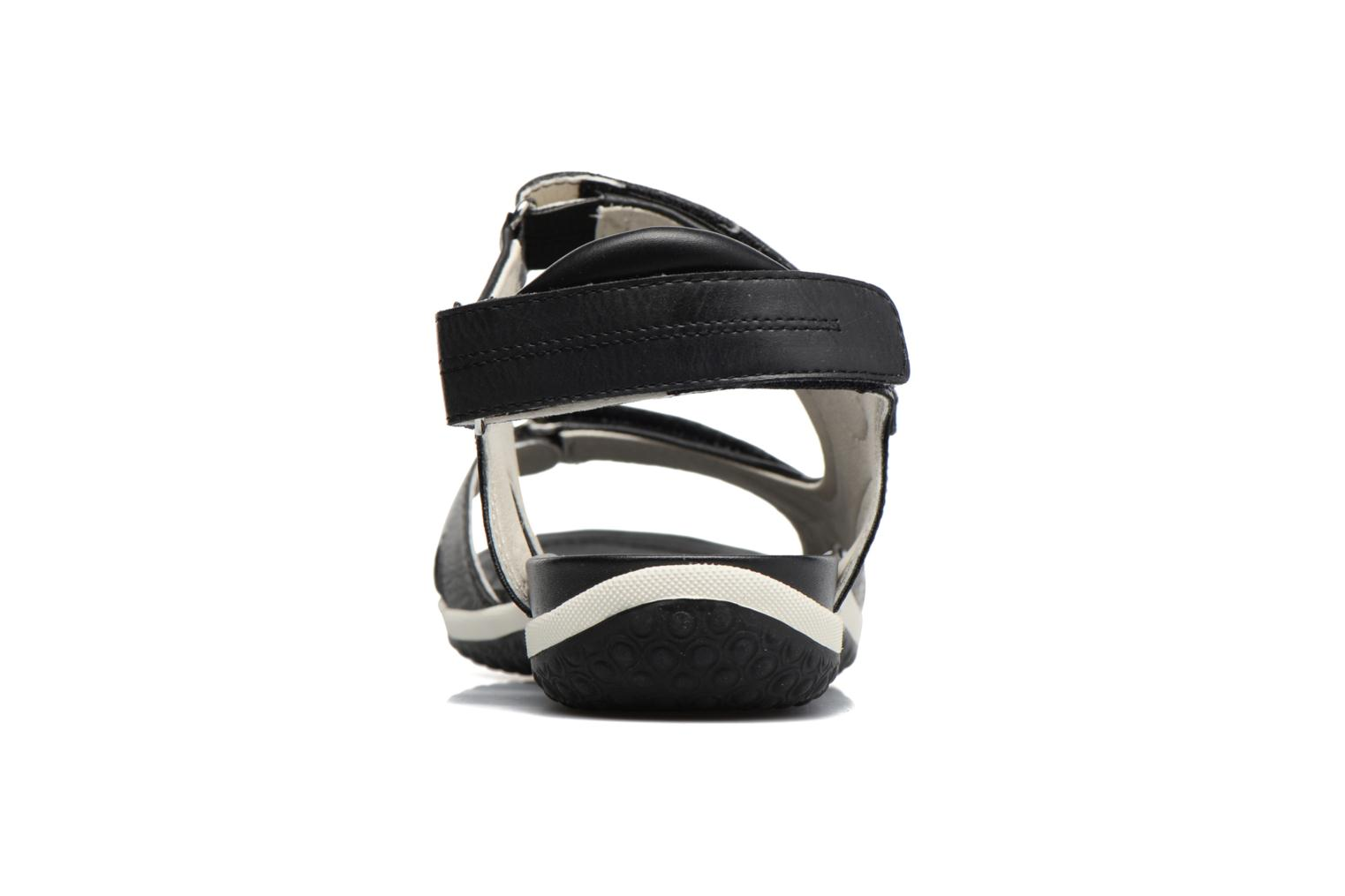 Sandals Geox D SAND.VEGA A D52R6A Black view from the right