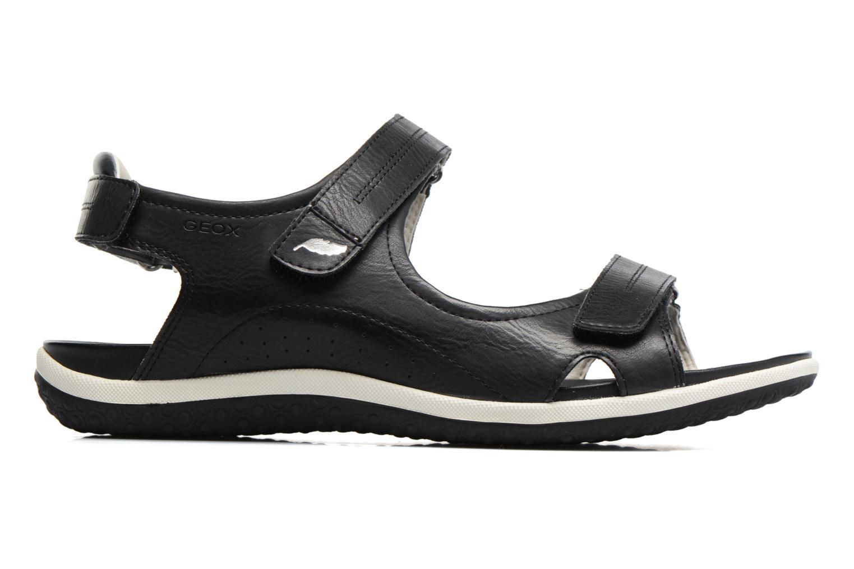 Sandali e scarpe aperte Geox D SAND.VEGA A D52R6A Nero immagine posteriore