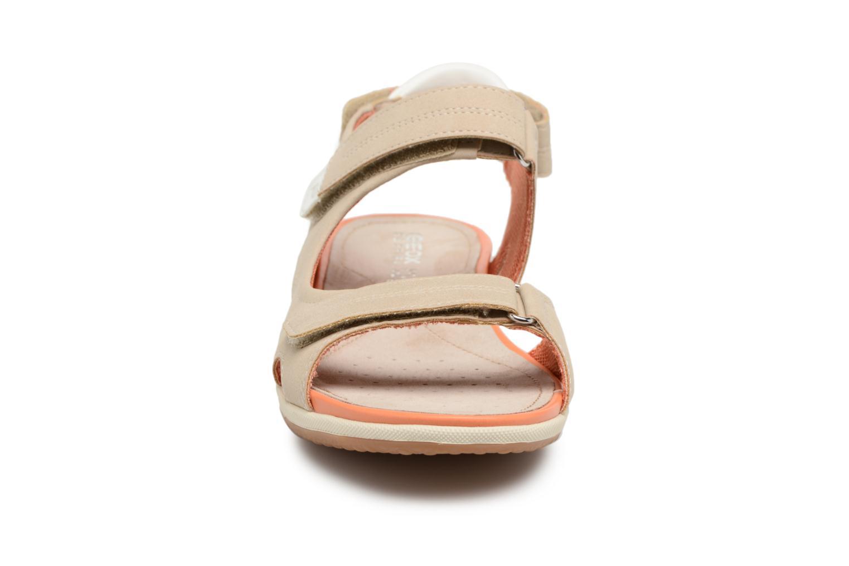 Sandals Geox D SAND.VEGA A D52R6A Beige model view