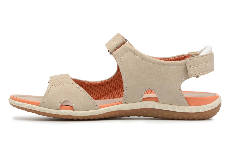 Sandals Geox D SAND.VEGA A D52R6A Beige front view