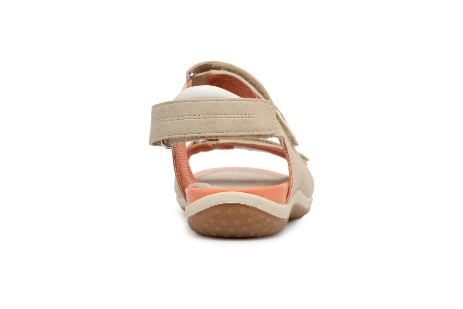 Sandals Geox D SAND.VEGA A D52R6A Beige view from the right