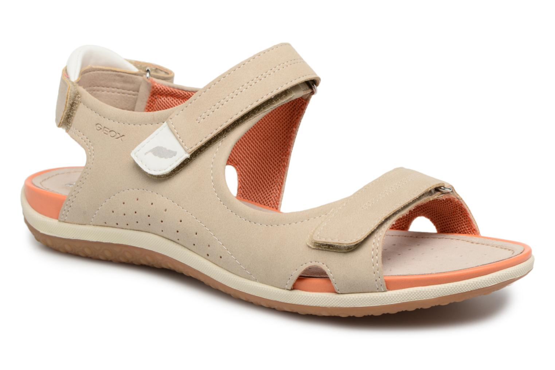 Sandals Geox D SAND.VEGA A D52R6A Beige detailed view/ Pair view