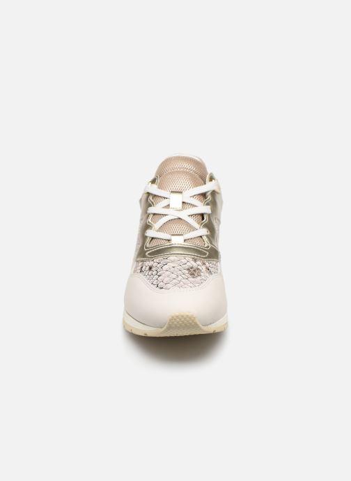 Baskets Geox D SHAHIRA B D62N1B Blanc vue portées chaussures
