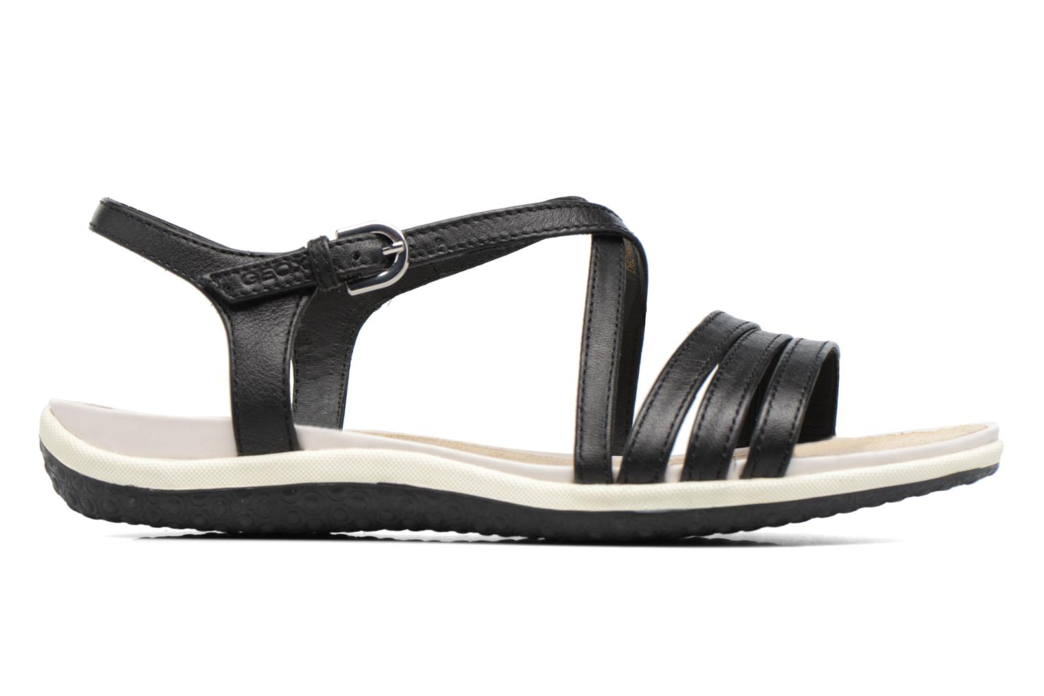 Sandals Geox D SAND.VEGA C D62R6C Black back view