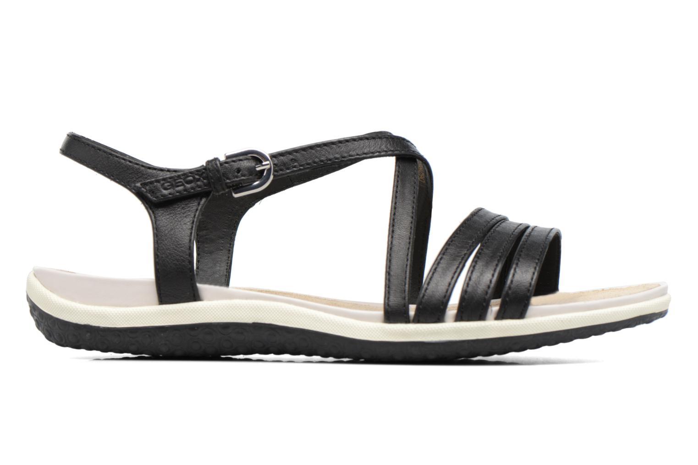 Sandales et nu-pieds Geox D SAND.VEGA C D62R6C Noir vue derrière