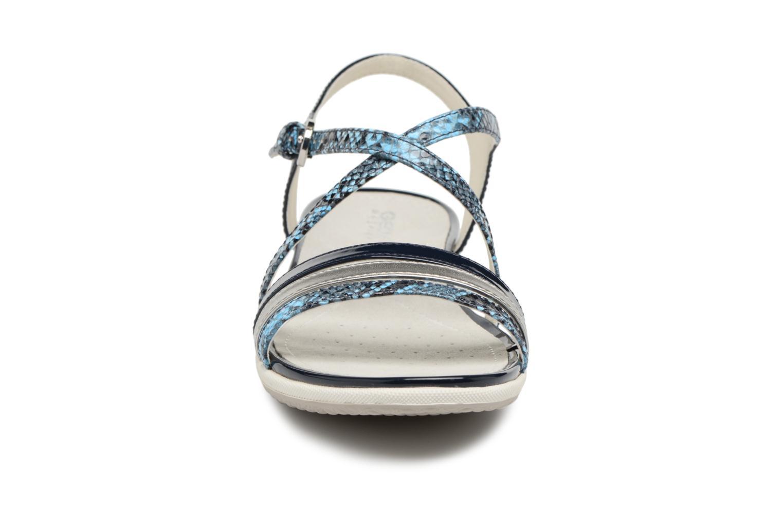 Sandalen Geox D SAND.VEGA C D62R6C blau schuhe getragen