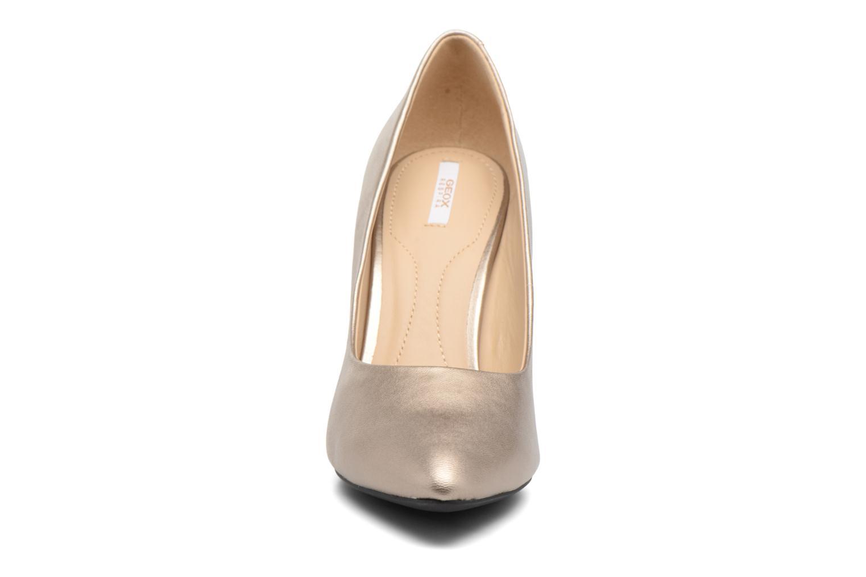 Høje hæle Geox D CAROLINE C D62W1C Guld og bronze se skoene på