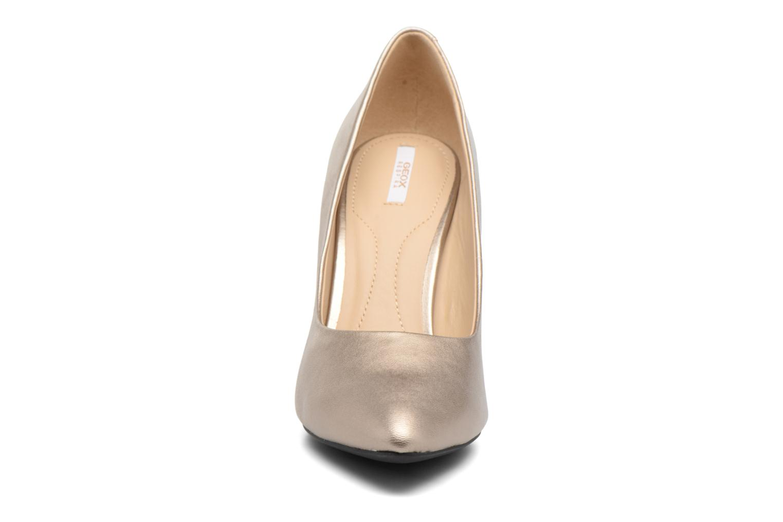High heels Geox D CAROLINE C D62W1C Bronze and Gold model view