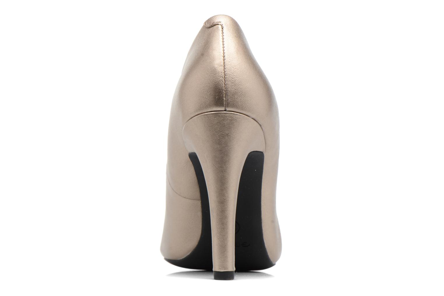 High heels Geox D CAROLINE C D62W1C Bronze and Gold view from the right