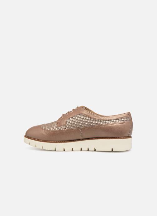 Zapatos con cordones Geox D BLENDA A D720BA Marrón vista de frente