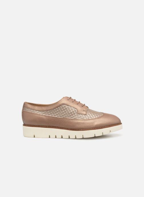 Zapatos con cordones Geox D BLENDA A D720BA Marrón vistra trasera