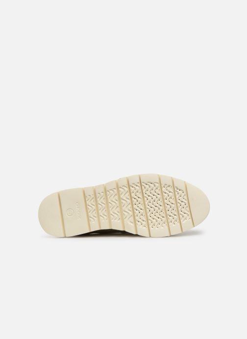 Chaussures à lacets Geox D BLENDA A D720BA Blanc vue haut