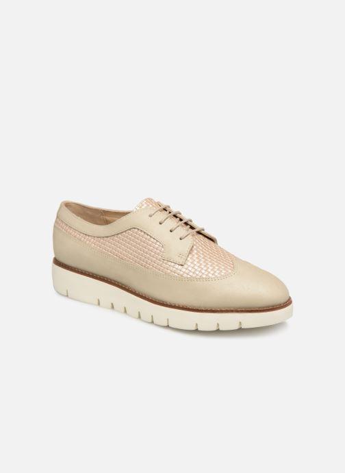 Chaussures à lacets Geox D BLENDA A D720BA Blanc vue détail/paire