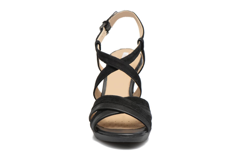 Sandales et nu-pieds Geox D JADALIS B D721VB Noir vue portées chaussures
