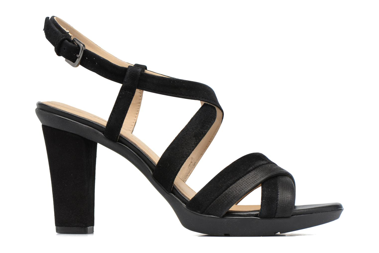 Sandales et nu-pieds Geox D JADALIS B D721VB Noir vue derrière