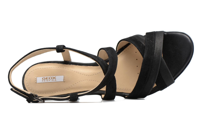 Sandales et nu-pieds Geox D JADALIS B D721VB Noir vue gauche
