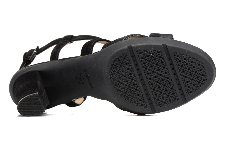 Sandales et nu-pieds Geox D JADALIS B D721VB Noir vue haut