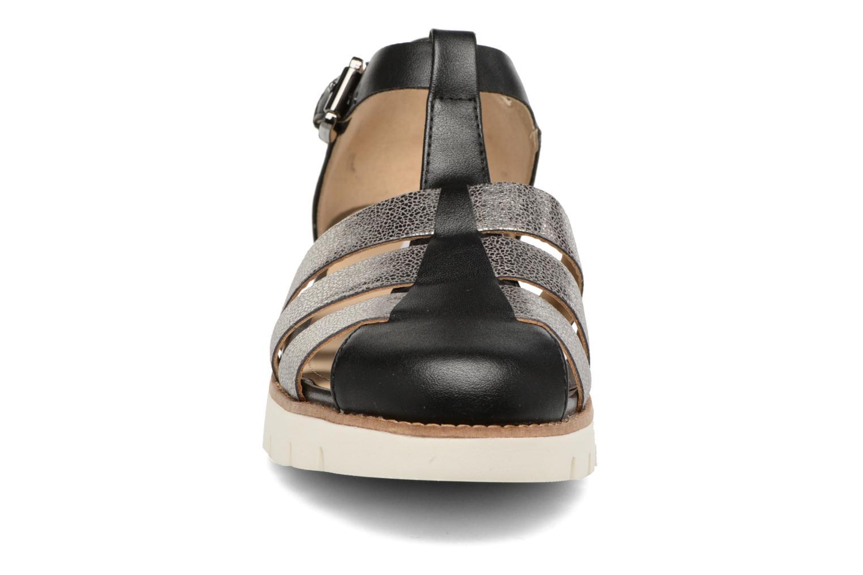 Sandales et nu-pieds Geox D DARLINE D D721YD Noir vue portées chaussures