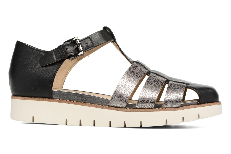 Sandales et nu-pieds Geox D DARLINE D D721YD Noir vue derrière