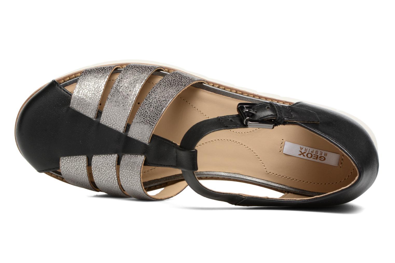 Sandales et nu-pieds Geox D DARLINE D D721YD Noir vue gauche