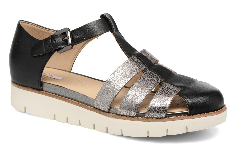 Sandales et nu-pieds Geox D DARLINE D D721YD Noir vue détail/paire