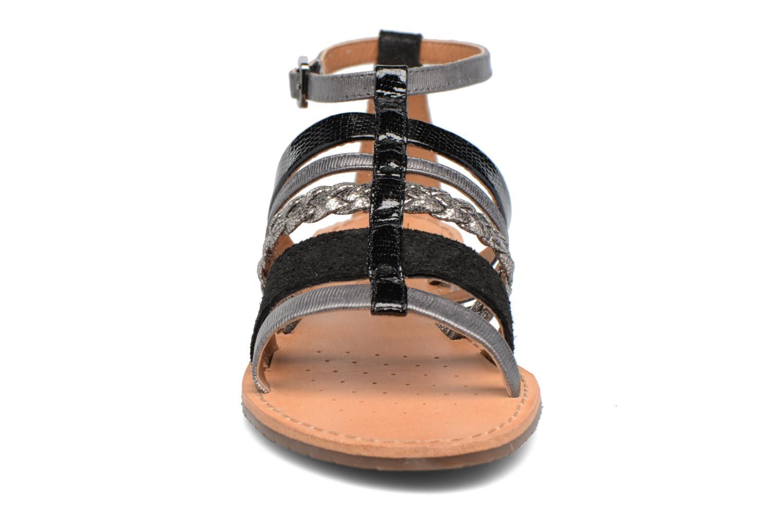 Sandales et nu-pieds Geox D SOZY E D722CE Noir vue portées chaussures