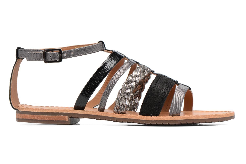 Sandales et nu-pieds Geox D SOZY E D722CE Noir vue derrière