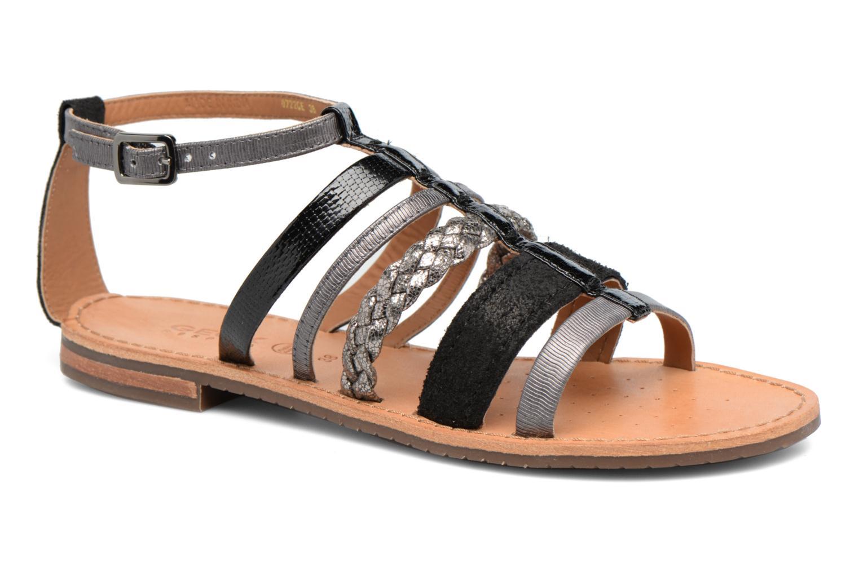 Sandales et nu-pieds Geox D SOZY E D722CE Noir vue détail/paire