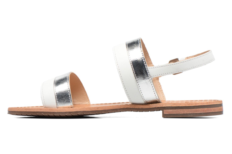 Sandali e scarpe aperte Geox D SOZY F D722CF Bianco immagine frontale